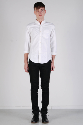 L'Homme Rouge: Needs Oxford Shirt White