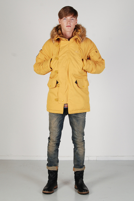 Alpha Industries: Explorer Mustard Jacket
