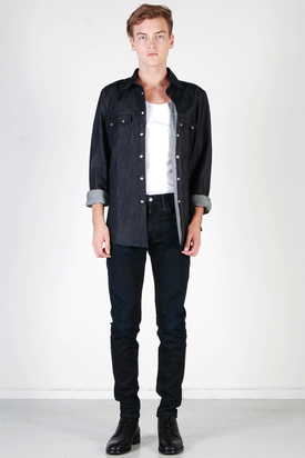 Nudie: Gusten Org. Dry Denim Shirt