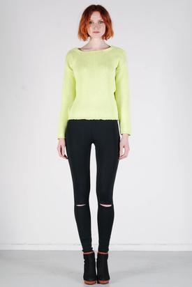 Samsøe & Samsøe: Radford Sunny Lime Sweater