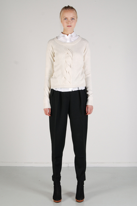 Dr Denim: Autumn White Sweater