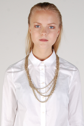 Cheap Monday: Safety Pin Necklace
