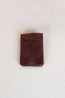 Nic & Mel: Ashton Cardcase Dark Brown