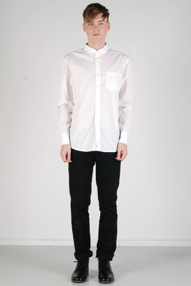 A.O.CMS: Shirt All Cotton Chalky White