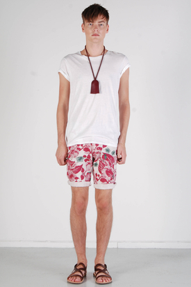 Dr Denim: William Flower Shorts