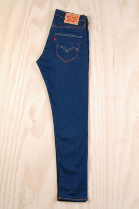 Levis: 520 Extreme Taper Fit Moss Blue