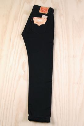Levis: 501 Black Jeans