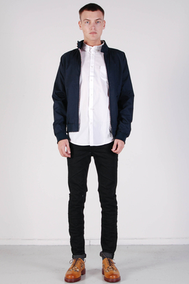 Ben Sherman: Harrington Jacket Navy Blazer