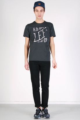Lee: Pocket Tee Faded Black