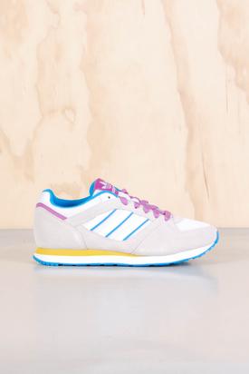 Adidas: ZX 100 W Runwht/Solblu/Blanc