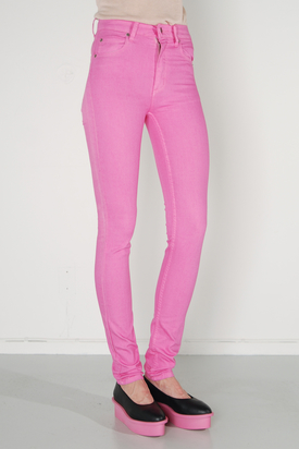 Cheap Monday: Second Skin Pink Denim