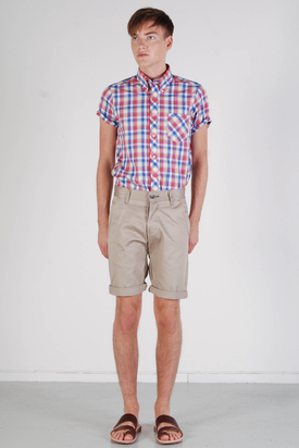 Dr Denim: William Khaki Shorts