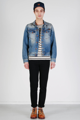 Nudie: Conny Denim Jacket Spring Hope