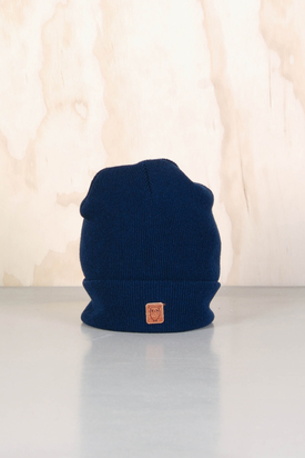 Knowledge Cotton: Beenie Hat Total Eclipse