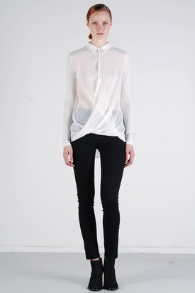 S'nob: Ida Shirt Taupe Grey