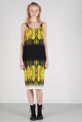 Samsøe & Samsøe: Fria Green Sheen Dress
