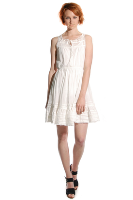 Levis: Gwi Lace Dress Cloud