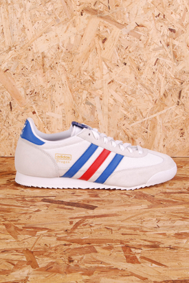 Adidas: Dragon White/Blue/Red