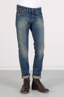 Edwin: ED-55 Tar Washed Jeans