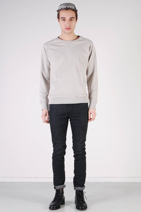 A.O.CMS: Crew-Neck Sweat Sand