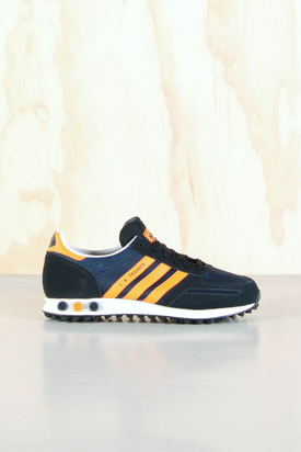 Adidas: LA Trainer Navy/Orange