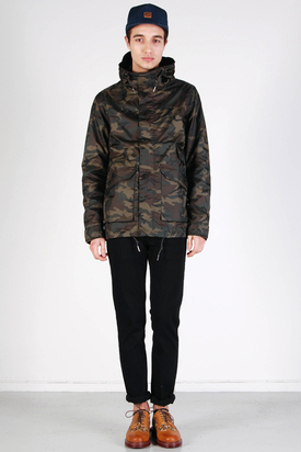 Elvine: Walter Dark Camo Jacket