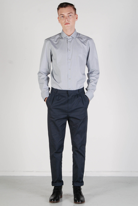 Bruuns Bazaar: Murray Grey Shirt
