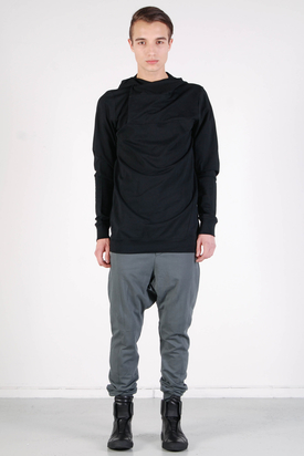 Odeur: Cover Hooded Sweat Black