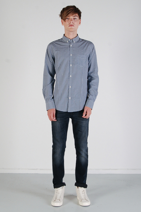 Ben Sherman: LS Shirt Cadet Blue