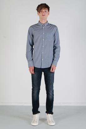 Ben Sherman: LS Shirt Cadet Blue