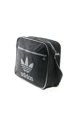 Adidas: Airline Vintage Black Bag