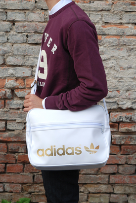 Adidas: AC Airline White Bag
