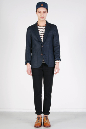 Elvine: Anton Dark Navy Jacket