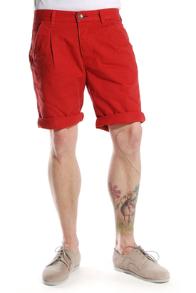 Dr Denim: Eddie Red Shorts