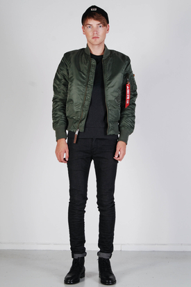 Alpha Industries: MA-1 VF 59 Bomber Jacket Sage Green