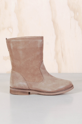 Samsøe & Samsøe: Fir Light Brown Boot