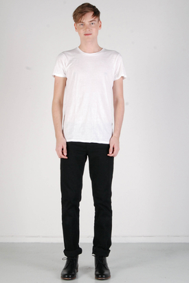 A.O.CMS: Lightweight Crew-Neck T-shirt White