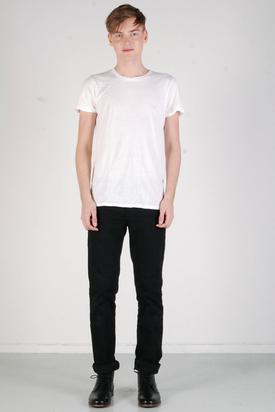 A.O.CMS: Lightweight Crew-Neck T-shirt White