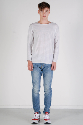 Dr Denim: Tye White Stripe