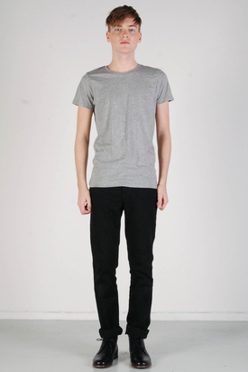 A.O.CMS: Lightweight Crew-Neck T-shirt Grey Melange