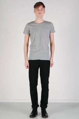 A.O.CMS: Lightweight Crew-Neck T-shirt Grey Melange