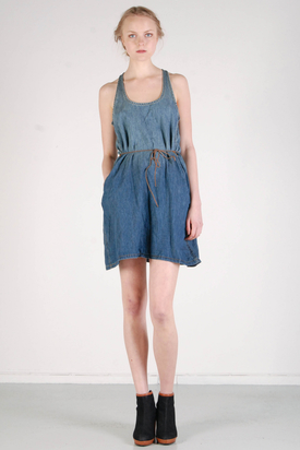 Levis: Tank Dress With Belt
