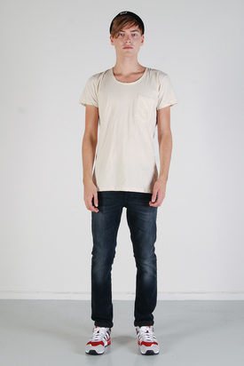 Dr Denim: Joey White Vintage Tee