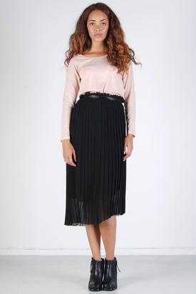Tiger: Mist Black Skirt