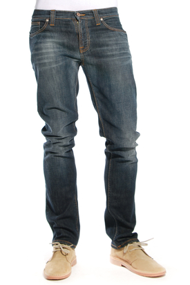Nudie: Tube Kelly Midnight Blue Jeans