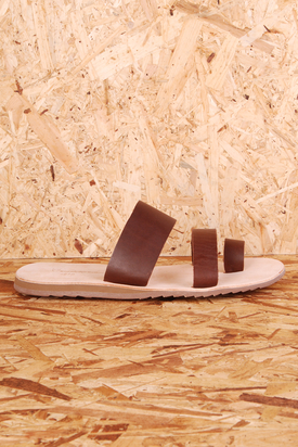 Knowledge Cotton: Dark Earth Sandal