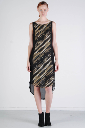 Tiger: Gaiana Print Dress