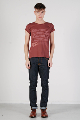 Nudie: Round Neck Tee Org Wrenches