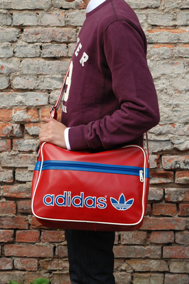 Adidas: AC Airline Red/Blue Bag