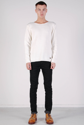 Brixtol: Aiden Canvas Ivory Sweater